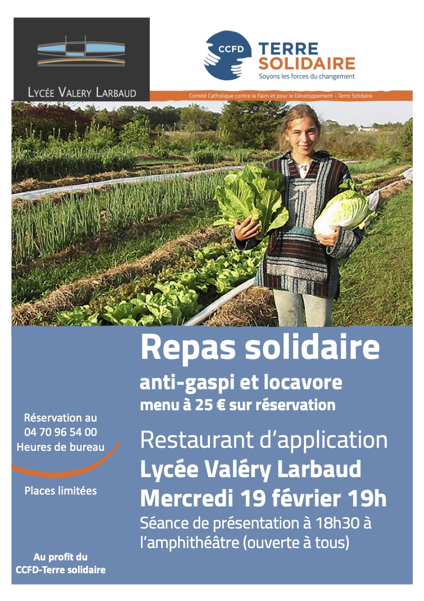 CCFD - REPAS SOLIDAIRE