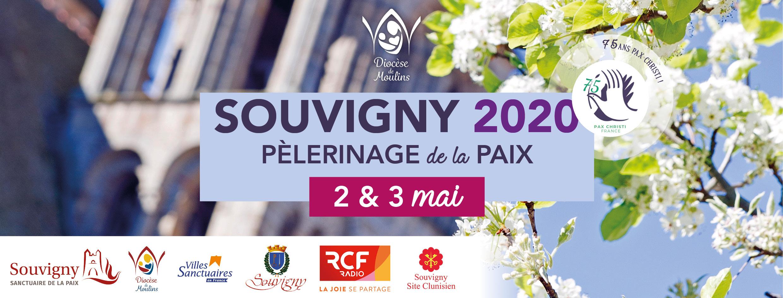 Pèlerinage de Souvigny  2 et 3 mai 2020