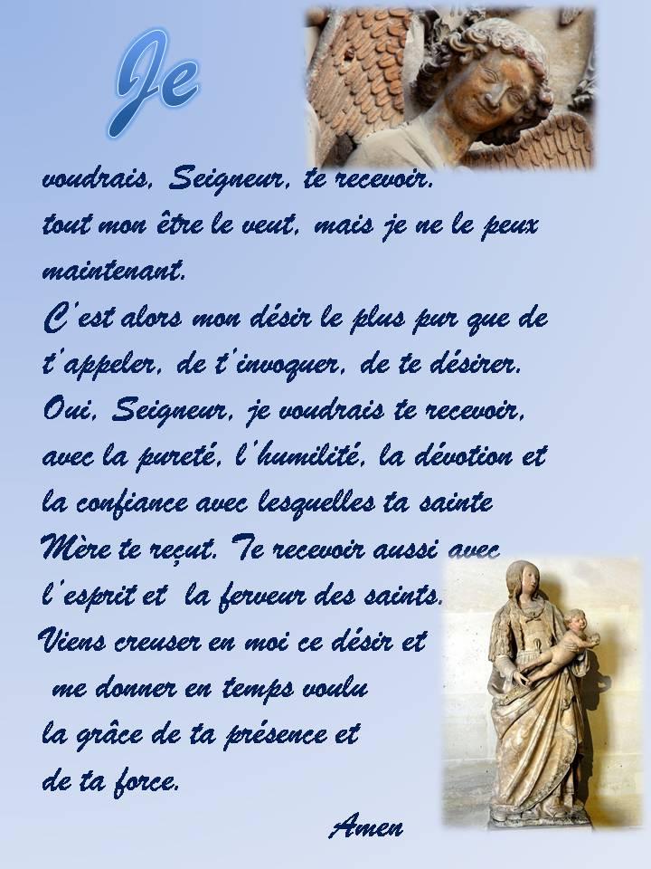 Image Communion de Désir