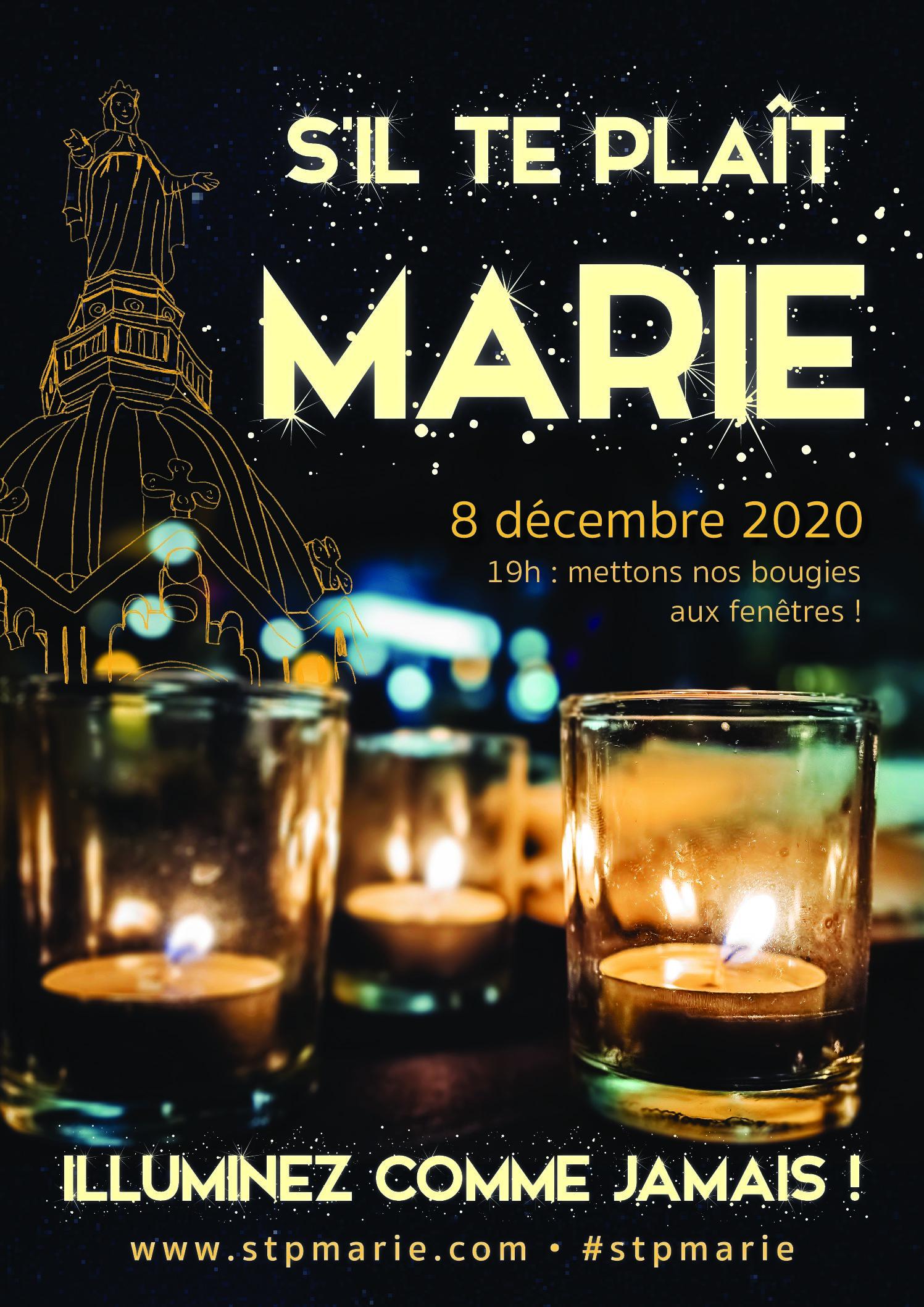 8 décembre - Allumez vos lumignons !