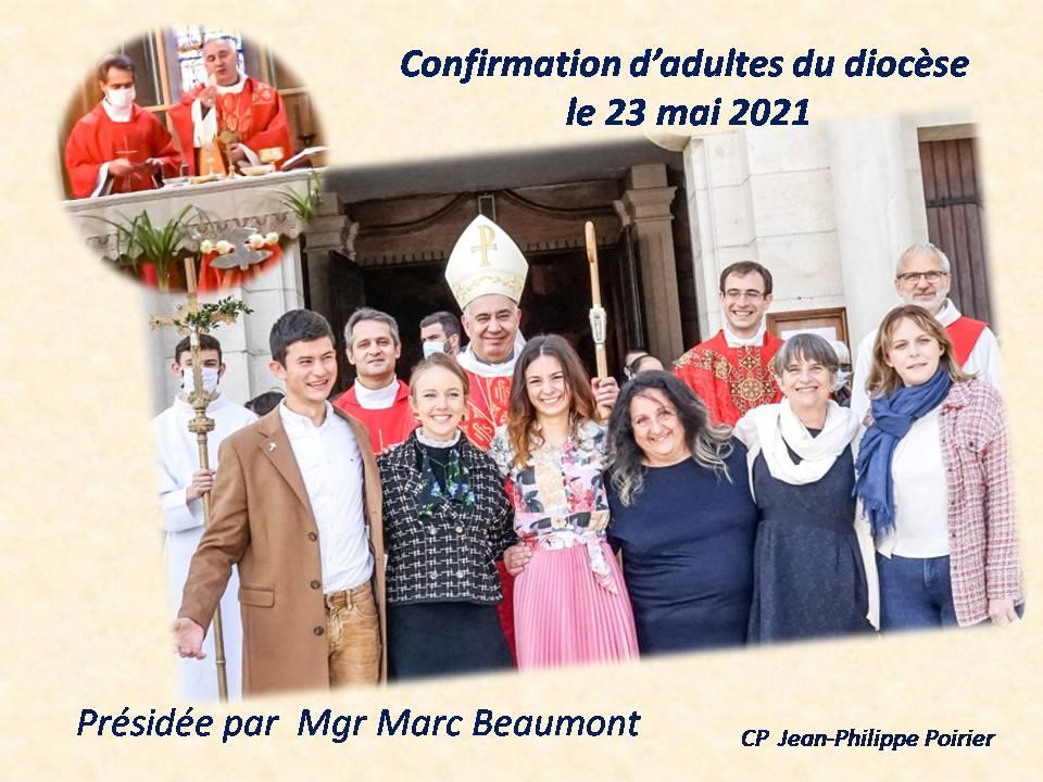 Confirmation d'adultes du diocèse