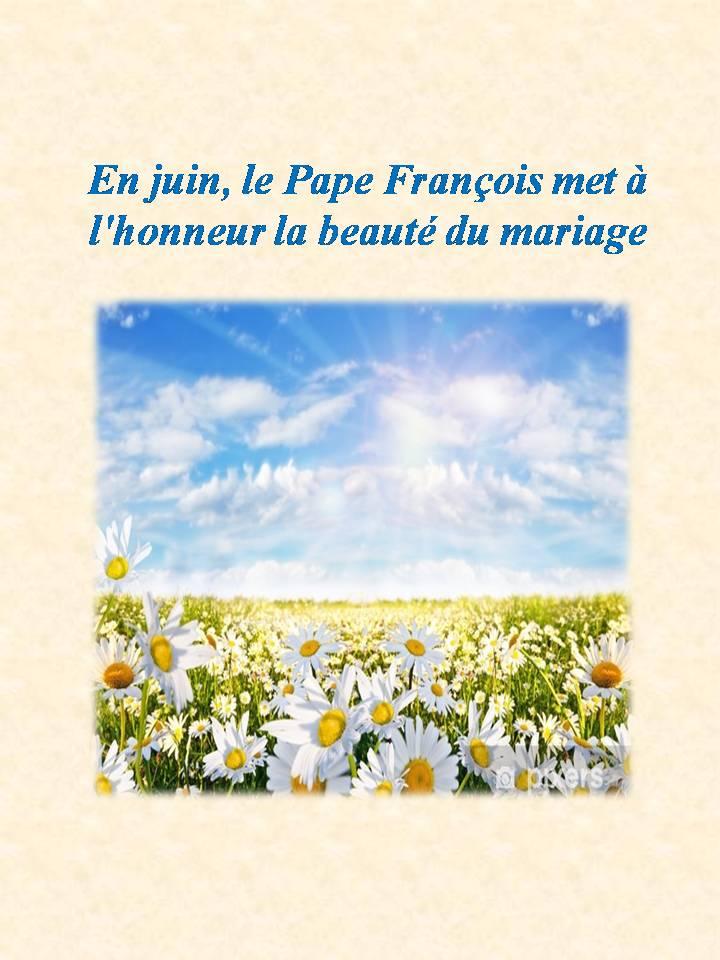 La beauté du mariage