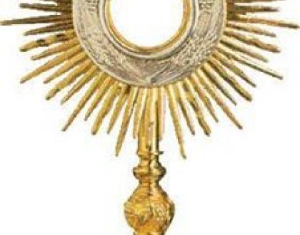 L'adoration eucharistique dans notre Paroisse