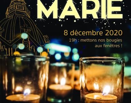 8 décembre – Allumez vos lumignons !
