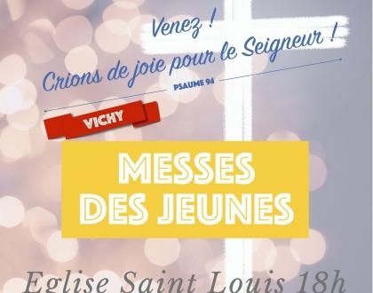 MESSES DES JEUNES  – 2020 – 2021