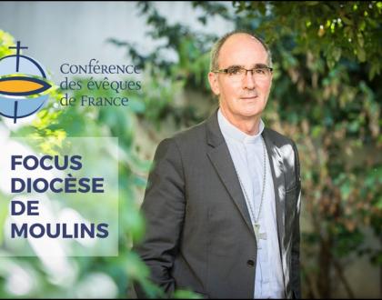 A lire sur le site du Diocèse de Moulins : Focus de la Conférence des évêques de France : Mgr Laurent Percerou