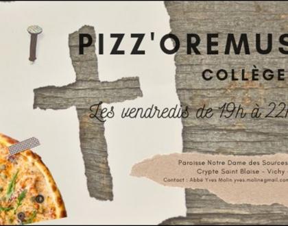 PIZZ'OREMUS  COLLEGES  VICHY