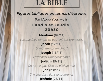 Redécouvrir la Bible