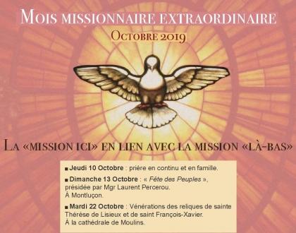 Mois Missionnaire Octobre 2019