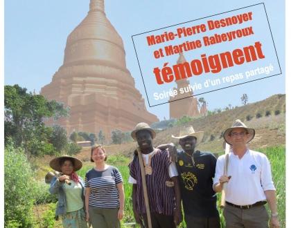 CCFD – Retour d'Immersion en Birmanie