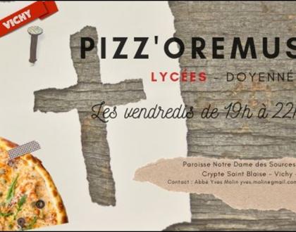 PIZZ'OREMUS  LYCEES  VICHY