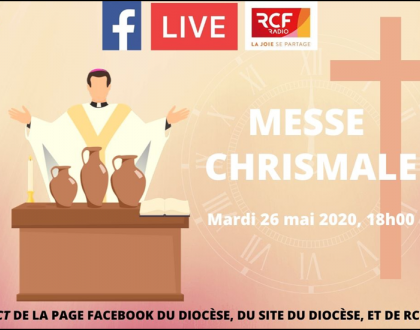 MESSE  CHRISMALE  2020