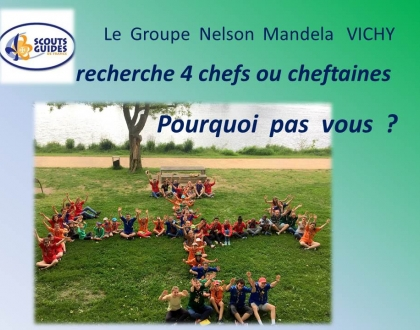 Scoutisme – Groupe Nelson Mandela